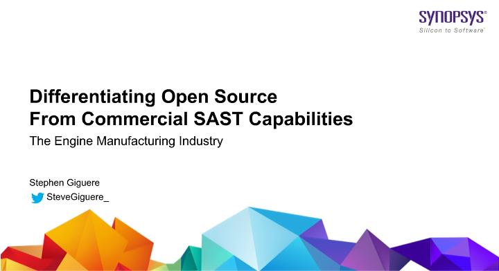 SAST: Diferenças entre aplicações comerciais e Open Source